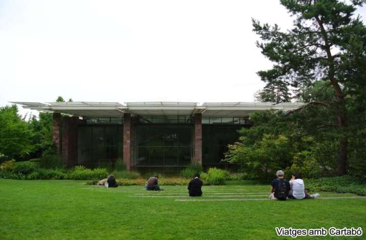 Façana de la Fundació Beyeler de Renzo Piano
