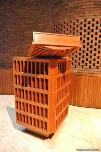 Púlpit MIT Chapel d'Eero Saarinen