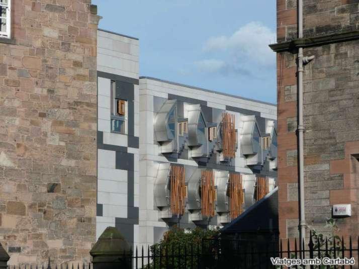 Finestres Despatxos Diputats Parlament d'Escòcia