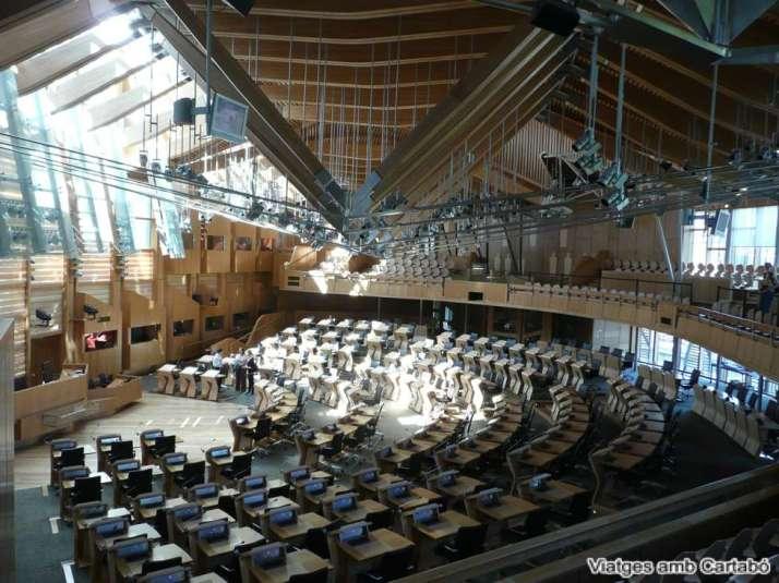 Sala Plens Parlament d'Escòcia
