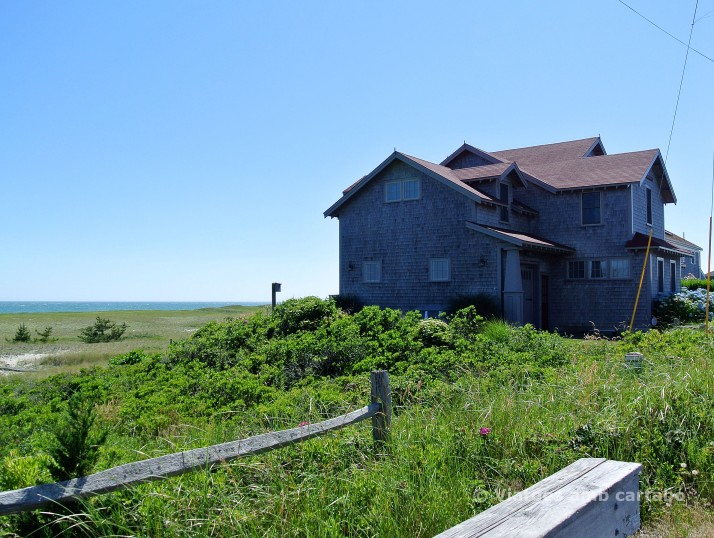 Casa típica de Nantucket a Surfside Beach