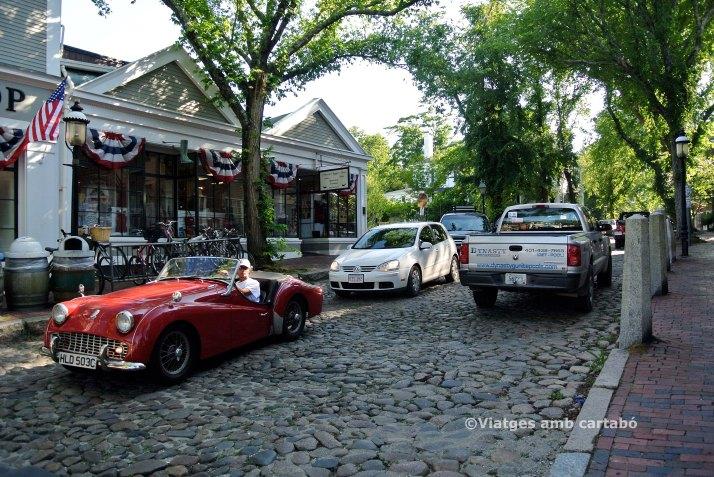 Espectacular cotxe a Nantucket