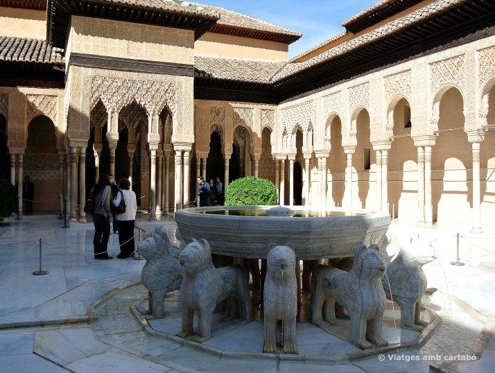 Patio de los leones de l'Alhambra
