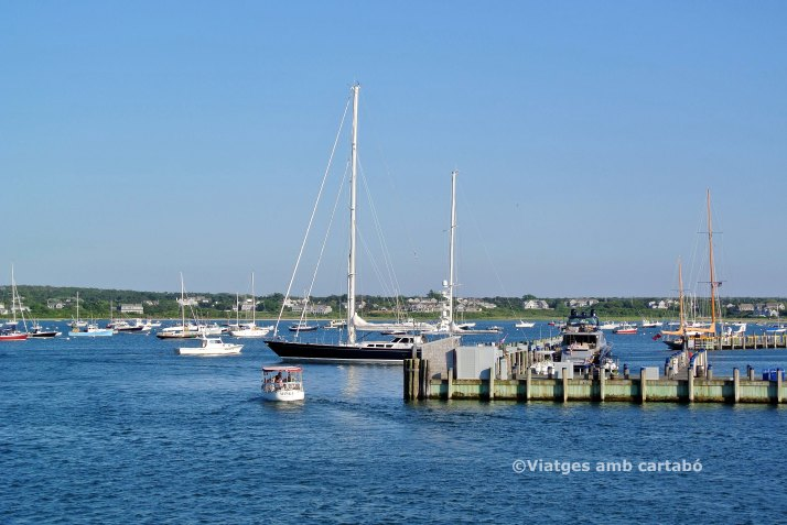 Vaixells al Port de Nantucket