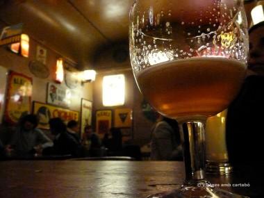 Cervesa al Delirium Tremens