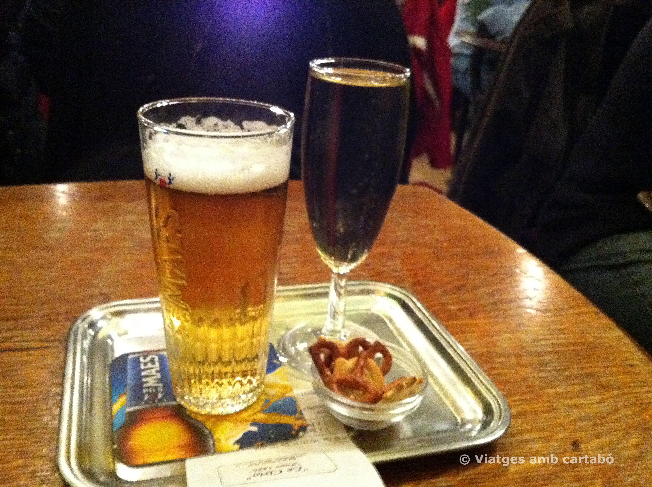 Cervesa i aperitiu a Maison Cirio