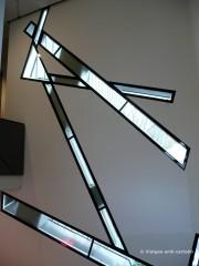 Detall finestres del Museu Jueu des de l'interior