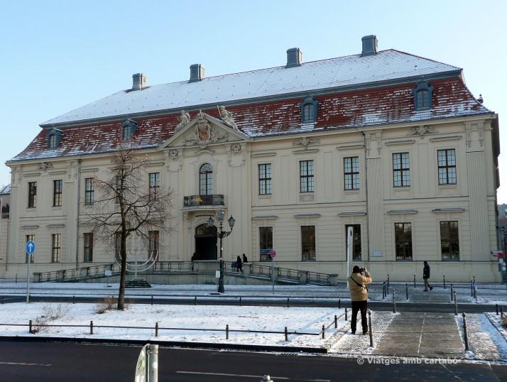 Antic edifici del Museu Jueu de Berlín