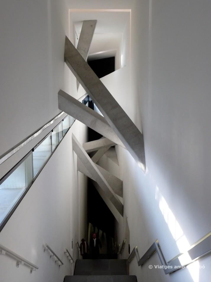 Escala principal del Museu Jueu de Berlín