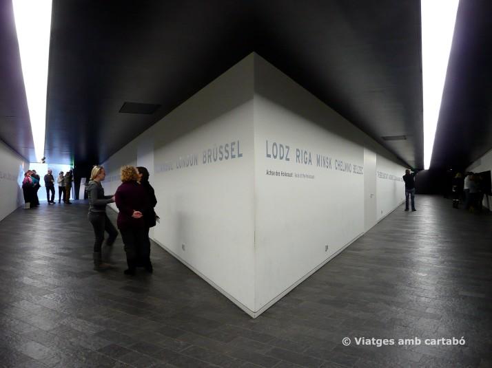 Interior Museu Jueu Berlín