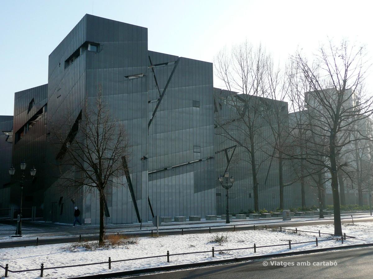 El Museu Jueu de Berlín de Daniel Libeskind