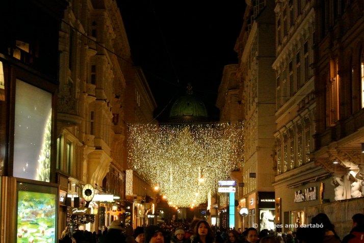 Llums de Nadal al centre de Viena