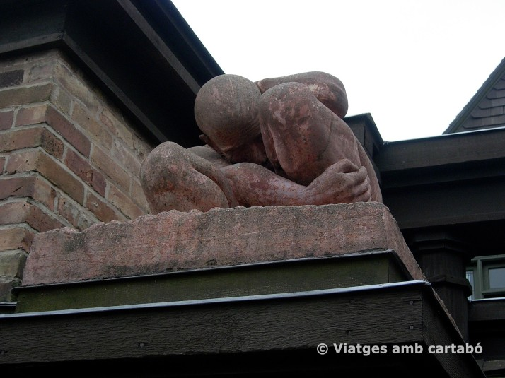 Detall Escultura Home Studio FLLW