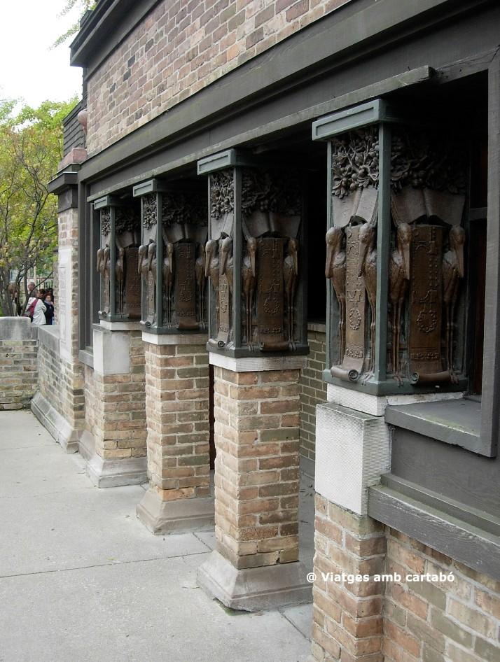 Detalls columnes Home Studio FLLW