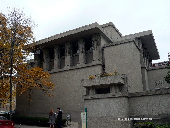 Edifici Unity Temple de Frank Lloyd Wright