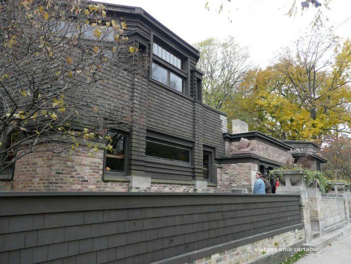 Home and Studio de Frank Lloyd Wright