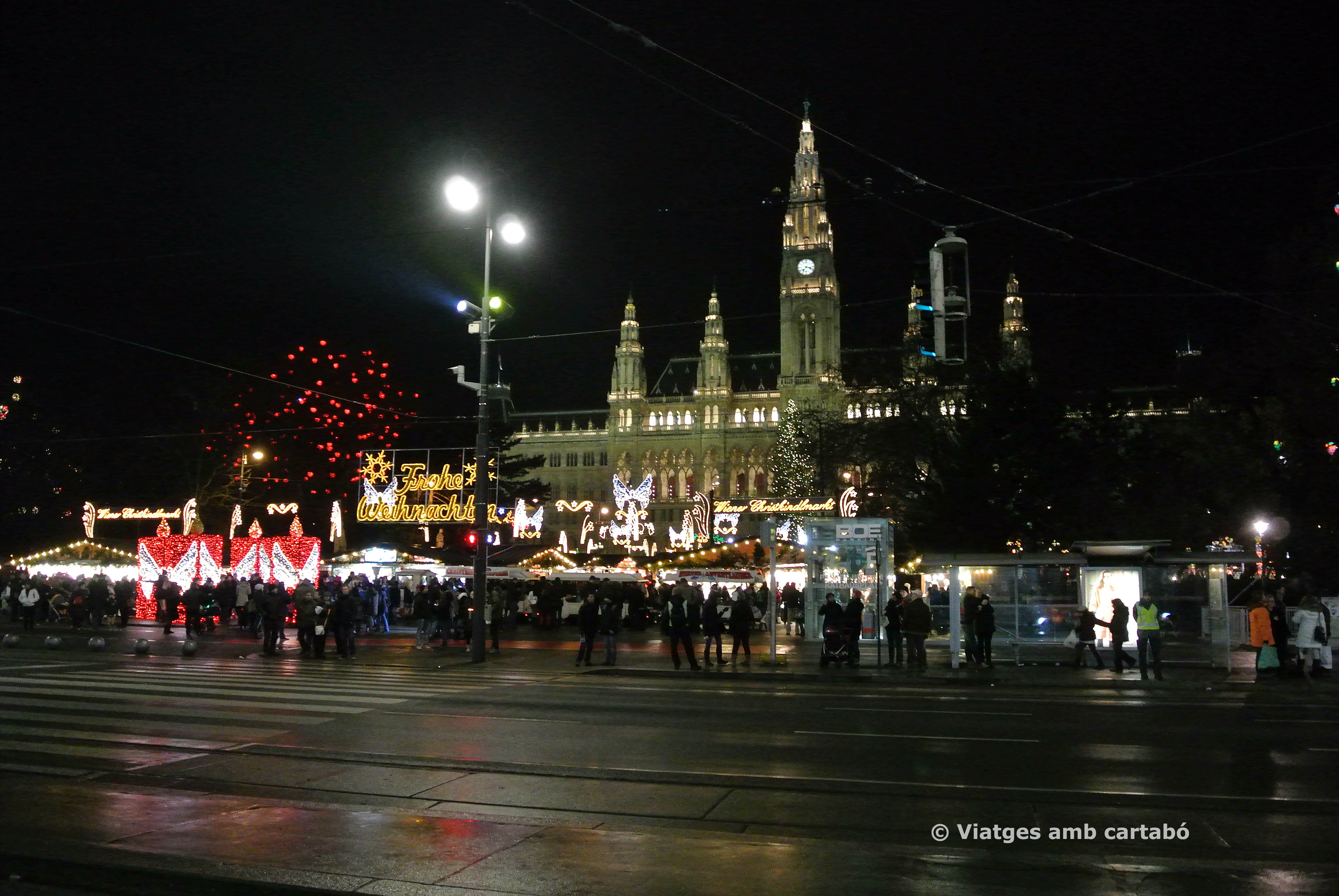 Mercat Nadal Ajuntament Viena