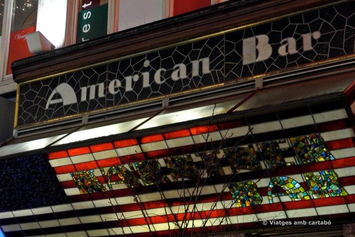 Loos American Bar cartell