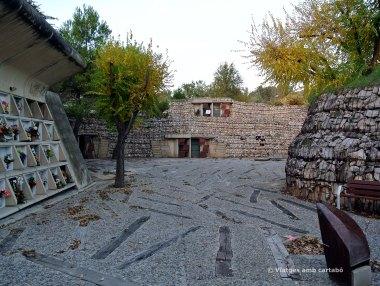 Cul de sac eix principal Cementiri Igualada