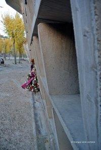 Detall nínxols Cementiri Igualada