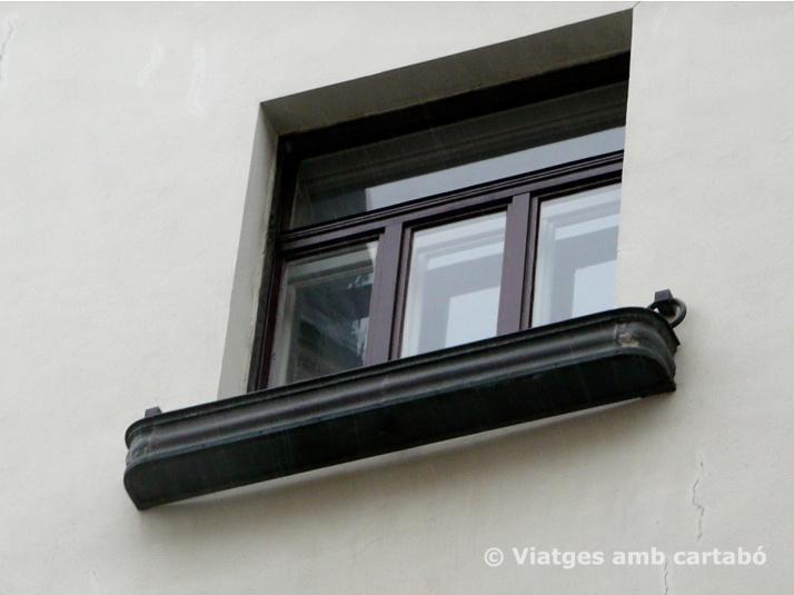 Loos Haus detall finestra