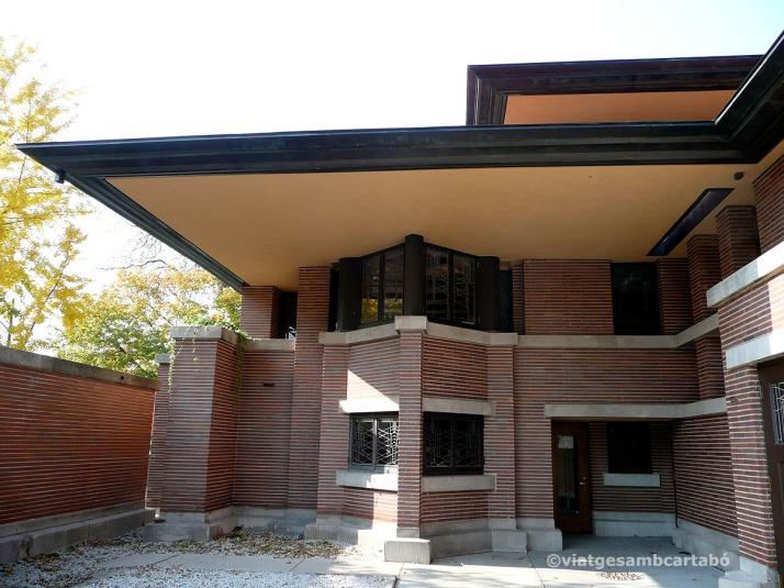 The Robie House entrada des de dins