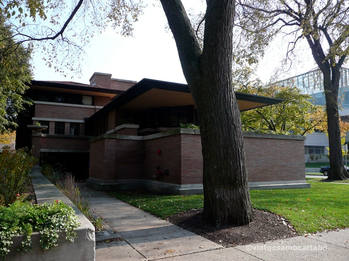 The Robie House general lateral
