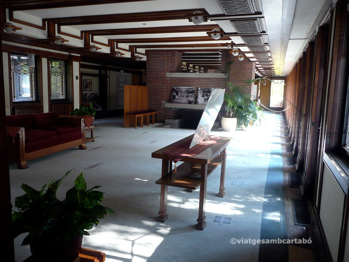 The Robie House interior general