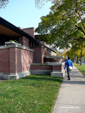 The Robie House lateral lluny
