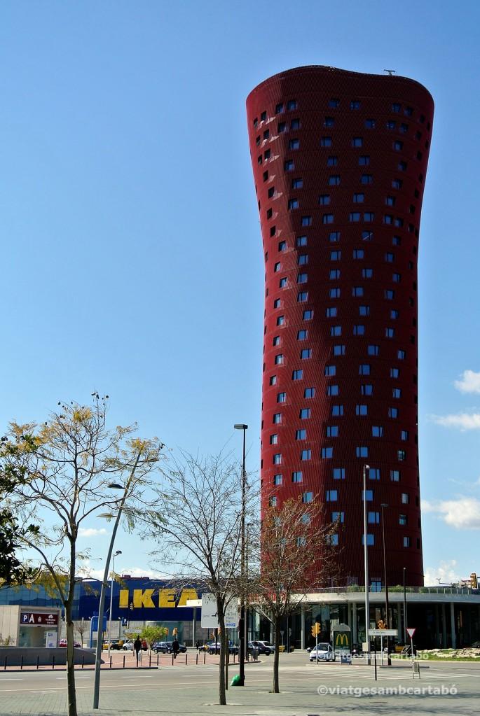 Toyo Ito Hotel Porta Fira Torre Esquerra