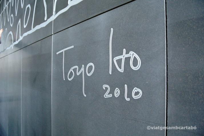 Toyo Ito Mural Signatura