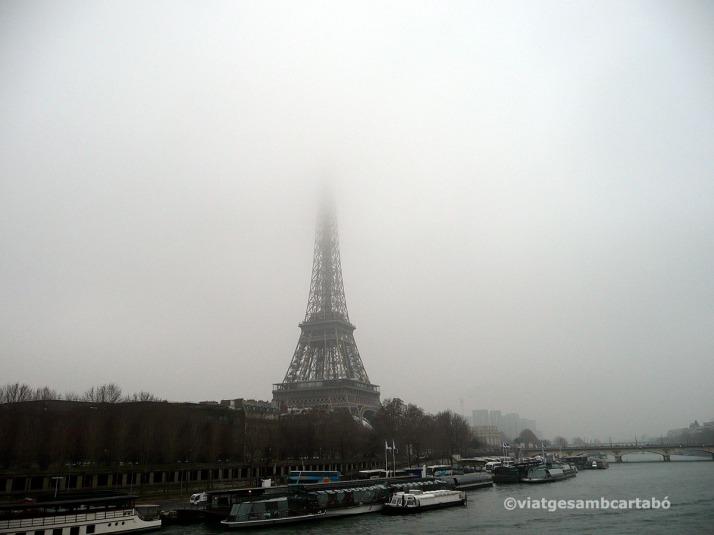 Vistes Torre Eiffel des de Musée Quai Branly