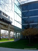 IIT Student Residence-2003 vs. Train by Murphy-Jahn