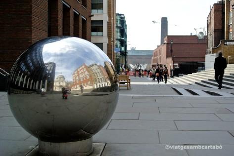 Londres Catedral de St Paul i la Tate Modern