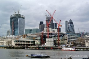 Londres The Walkie Talkie i St Marie Axe