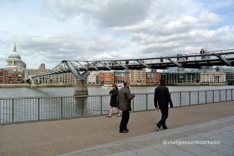 Londres Millenium Bridge