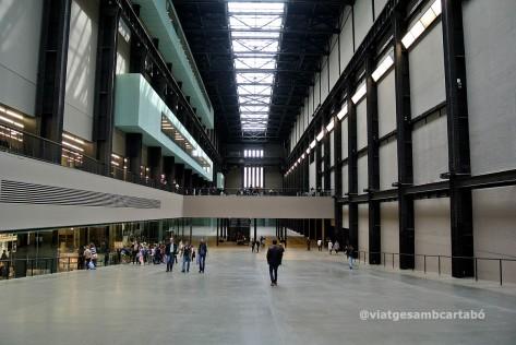 Londres Sala Turbines Tate Modern des de l'entrada
