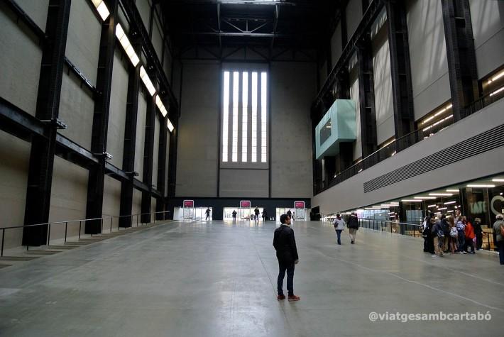 Londres Sala Turbines Tate Modern