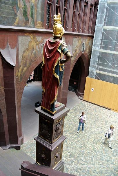 Ajuntament Basilea estàtua