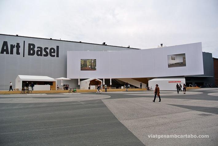 L'edifici de la Fira, en construcció, per Herzog & de Meureon
