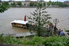 La manera més ecològica de creuar el riu Rin!