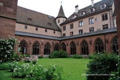 Preciós claustre de la Catedral de Basilea