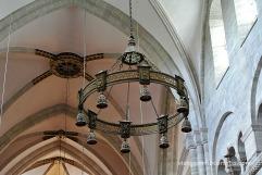 Detall del sostre de la Catedral de Basilea