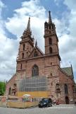Façana amb les dues torres de la Catedral de Basilea