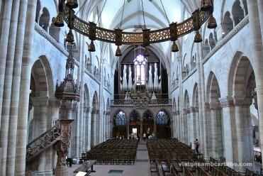 Interior de la Catedral de Basilea