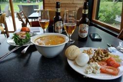 Sopa i cervesa local a Akureyri