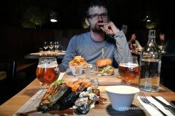 Dinar-homenatge de fi de viatge a Reyjkavik