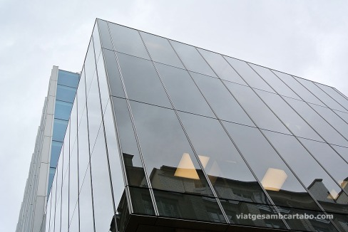 New Court by R. Koolhaas Corner detail