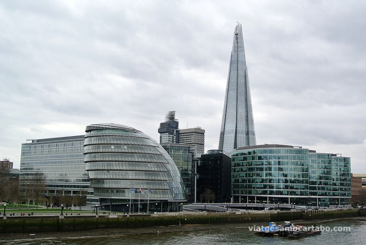 The Shard and City Hall Complex
