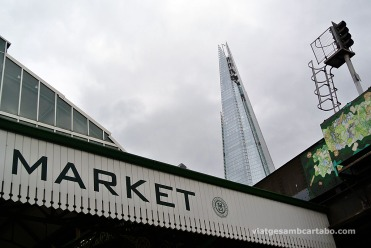 The Shard des de Borough Market